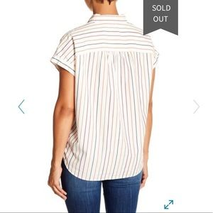 Madewell Tops - Madewell Central Shirt in vertical stripe